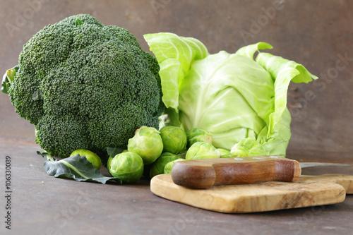 брюссельская капуста брокколи