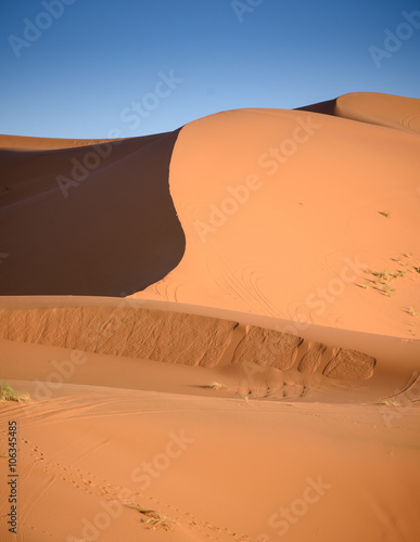 Tuinposter Algerije Dunes, Morocco, Sahara Desert