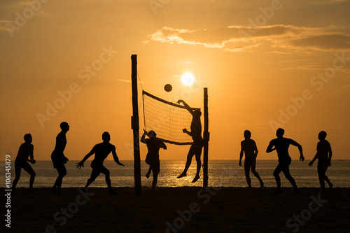 fototapeta na ścianę beach Volleyball