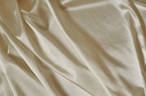 Closeup of rippled silk fabric - background