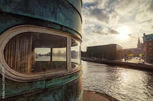 Póster Torre de conrol de Torvegalde, Copenhague