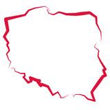Mapa Polski  - 106435071