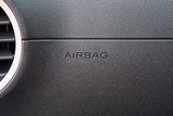 airbag sign in the car