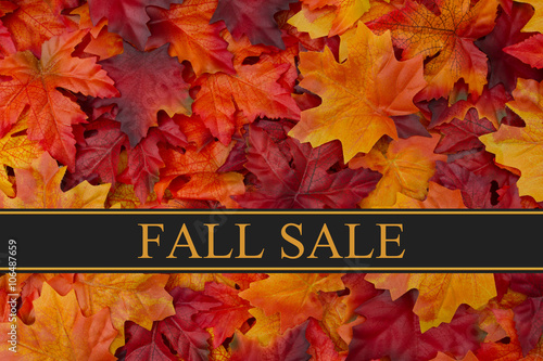 Fall Sale Message - 106487659