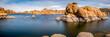 Watson Lake in Prescott Arizona.