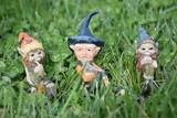 troll,elfi, e pixies personaggi decorativi