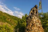 Statue und Fels an der Loreley - 106522405