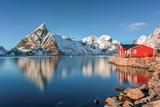 Fototapety Reine, Lofoten Islands, Norway