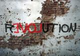 Révolution, graffiti