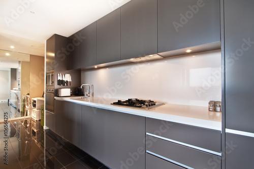 Modern gourmet kitchen interior Plakát