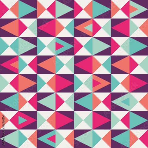 Naklejka seamless geometric pattern