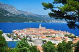 Corcula island, Croatia. - 106573477