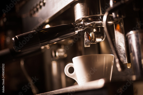 Espresso making machine Poster
