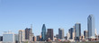 Panoramic view Dallas Texas city skyline