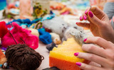 felting wool toys