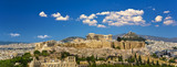 Greece. Athens. Cityscape with the Acropolis of Athens (seen from Philopappos Hill) - 106728007