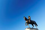 George Washington Statue at Boston Public Garden, Boston, Massachusetts, USA - 106743400