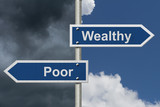 Being Wealthy versus Being Poor