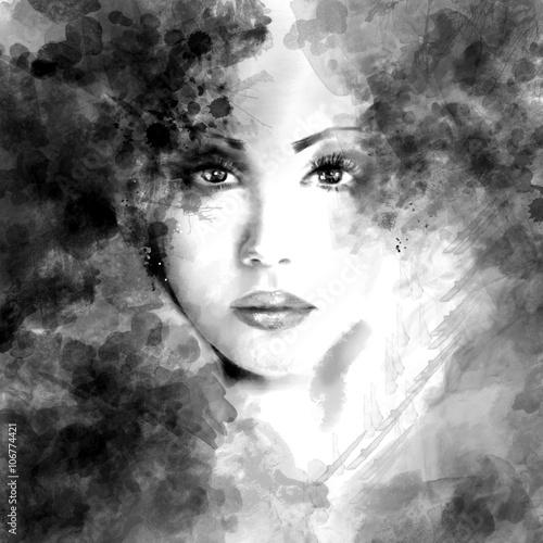 abstrakcyjna-piekna-twarz-kobiety