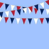 Bunting Flags background