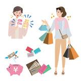 中年 女性 買い物