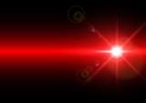 Fototapety Vector illustration of light on red background