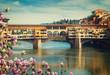 Quadro Ponte Vecchio, Florence, Italy