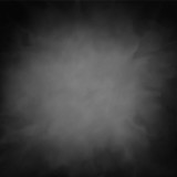 Fototapety black vector background texture with smoky cloudy white or gray center with dark vignette border