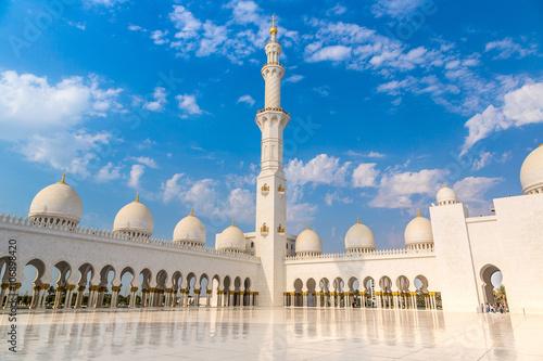 Foto op Canvas Bedehuis Sheikh Zayed White Mosque