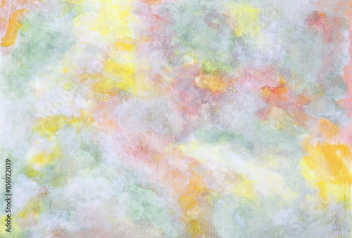 Fototapeta Abstract pastel painted background