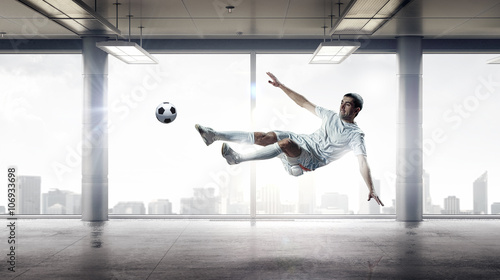 Football game player