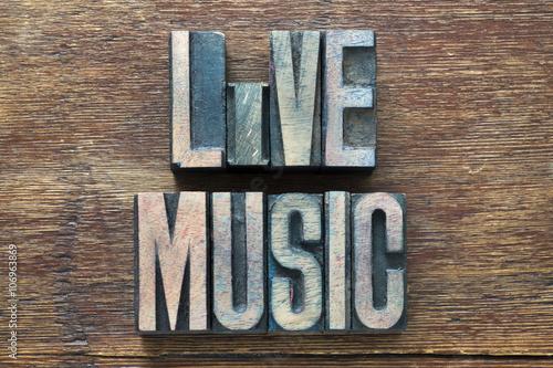 Bois de musique live Poster