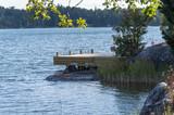 En privat brygga långt ute på Värmdö (5 av 6)