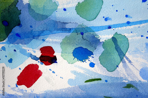 watercolor background design washes - 107111229