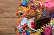 Obrazy na płótnie, fototapety, zdjęcia, fotoobrazy drukowane : Accessories for children's parties