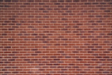 Exposed red vintage brick wall texture