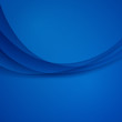 Blue vector Template Abstract background with curves lines and shadow. For flyer, brochure, booklet,  websites design