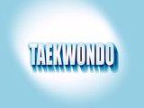 taekwondo sign background