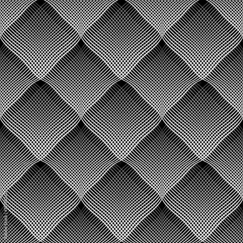 Seamless meshy pattern. - 107162612