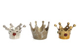 Three crowns in a row