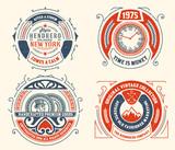 vintage logo templates, Hotel, Restaurant, Business or Boutique
