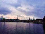 Hamburg city view