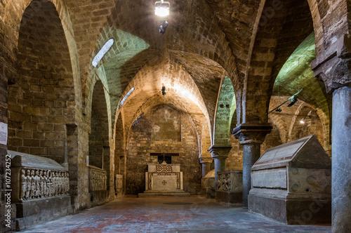 Keuken foto achterwand Palermo Cripta della Cattedrale di Palermo