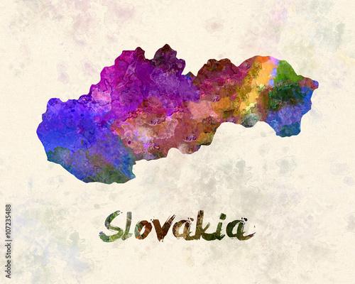 Slovakia in watercolor - 107235488