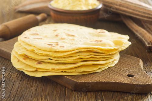 Plagát, Obraz Homemade tortilla