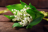 bunch of lily of the valley