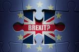 Brexit concept puzzle