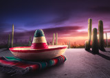 Fototapety Mexican hat