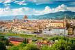 Quadro Florence (Firenze) cityscape, Italy.