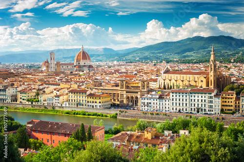Zdjęcia na płótnie, fototapety na wymiar, obrazy na ścianę : Florence (Firenze) cityscape, Italy.